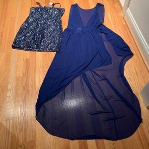 BCBGMaxAzria 2 piece Cocktail Dress